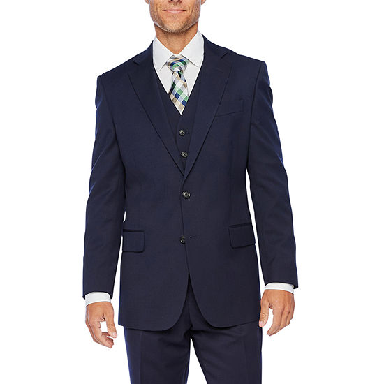 Stafford Super Mens New Navy Classic Fit Suit Separates