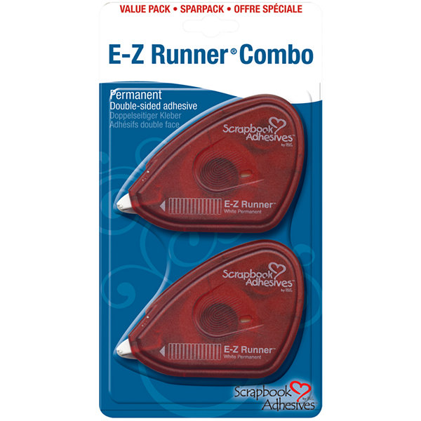E-Z Runner Permanent Double-Sided Adhesive Pack