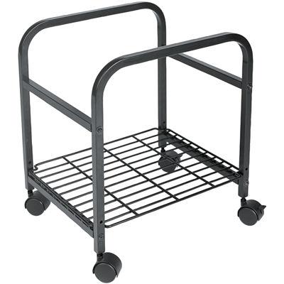 Cropper Hopper Heavy Duty Rolling Cart-Black