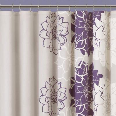 Madison Park Jane Floral Shower Curtain