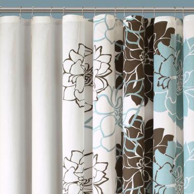 blue shower curtain jcpenney | curtain menzilperde