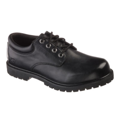 Skechers® Cottonwood Elk Mens Work Oxford Shoes