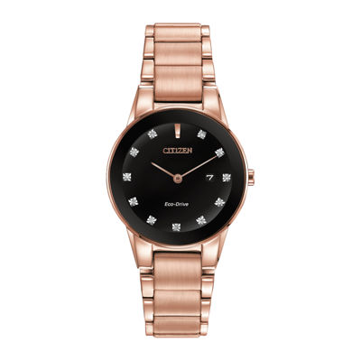 Citizen® Eco-Drive® Axiom Womens Diamond-Accent Bracelet Watch GA1058-59Q