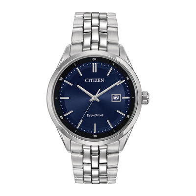 Citizen® Eco-Drive® Mens Stainless Steel Watch BM7251-53L