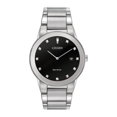 Citizen® Eco-Drive® Axiom Mens Diamond-Accent Watch AU1060-51G