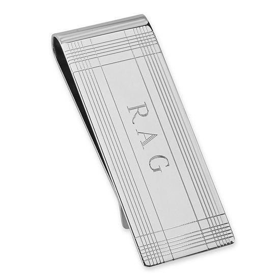 Personalized Tartan Design Money Clip