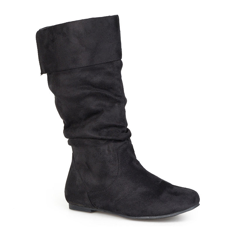 Journee Collection Shelley Boots - Extra Wide Calf plus size,  plus size fashion plus size appare