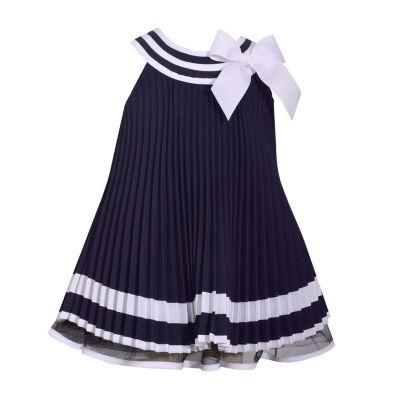 Bonnie Jean Sleeveless A-Line Dress - Toddler Girls