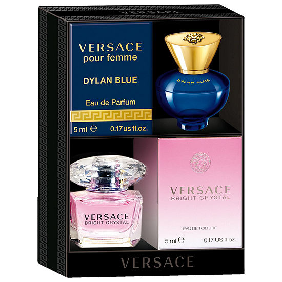 Versace Bright Crystal And Dylan Blue Pour Femme Mini Coffret Jcpenney