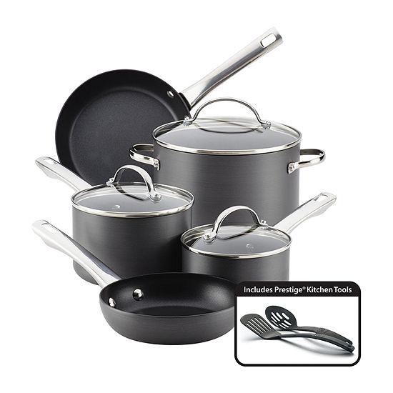 Farberware 10 Pc Aluminum Non Stick Cookware Set