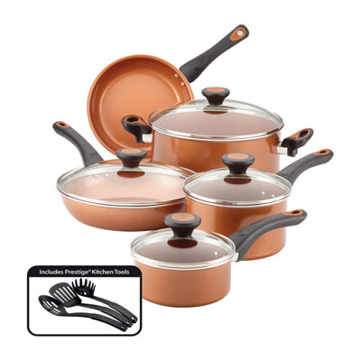 Farberware 12-pc. Aluminum Non-Stick Cookware Set