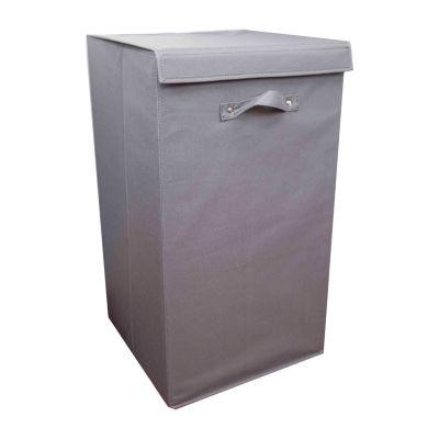 Home Basics 600D Polyester Laundry Hamper