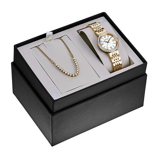 ca88c7061f26 Bulova Womens Gold Tone Watch Boxed Set-98x122 - JCPenney