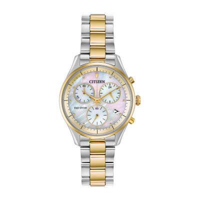 Citizen Womens Two Tone Bracelet Watch-Fb1444-56d