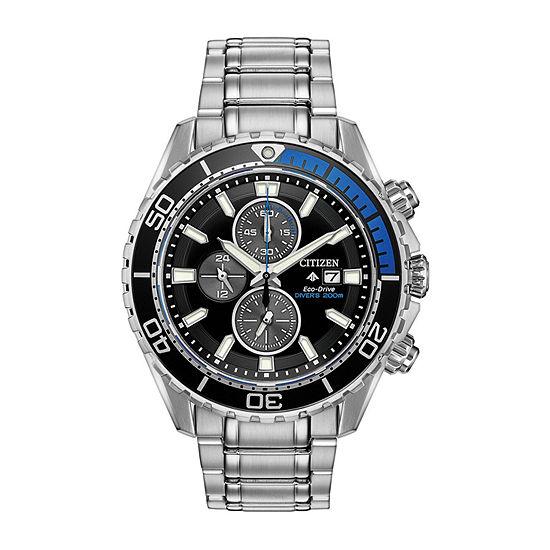 Citizen Mens Silver Tone Bracelet Watch-Ca0719-53e
