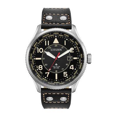 Citizen Mens Black Strap Watch-Bx1010-02e