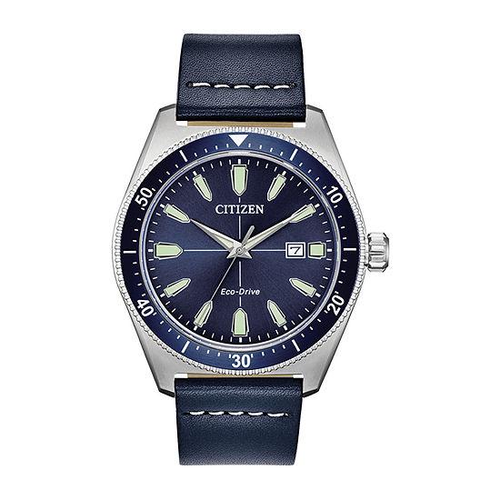 Citizen Mens Blue Strap Watch-Aw1591-01l