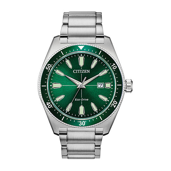 Citizen Mens Silver Tone Bracelet Watch Aw1598 70x