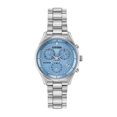 Citizen Womens Silver Tone Bracelet Watch-Fb1440-57l