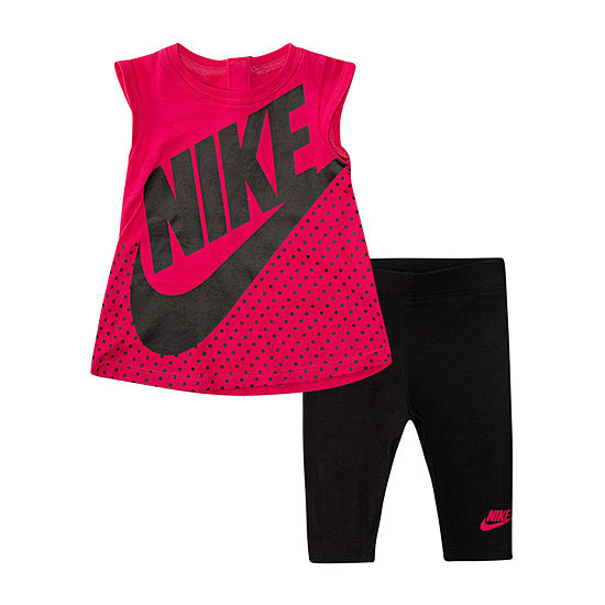 Nike-Little Kid Girls 2-pc. Legging Set