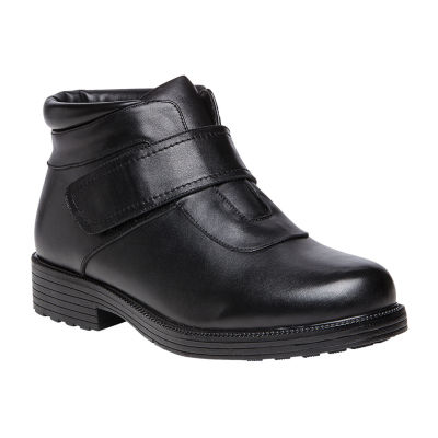 Propet Mens Tyler Waterproof Winter Hook and Loop Boots