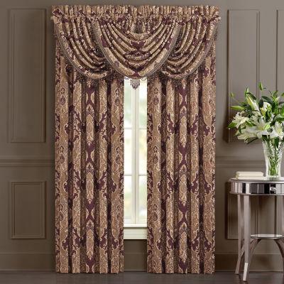 Queen Street Andrea 2 Pair Rod-Pocket Curtain Panels