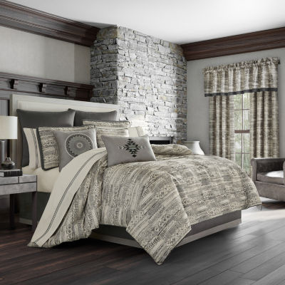 Queen Street Brody 4-pc. Heavyweight Comforter Set
