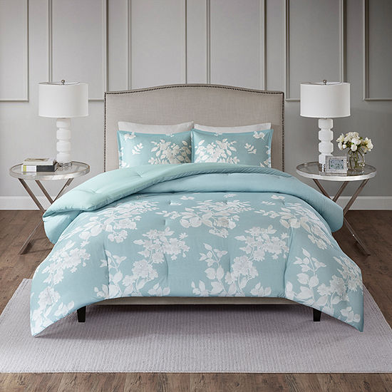 Madison Park Arlena 3PC Cotton Printed Comforter Set