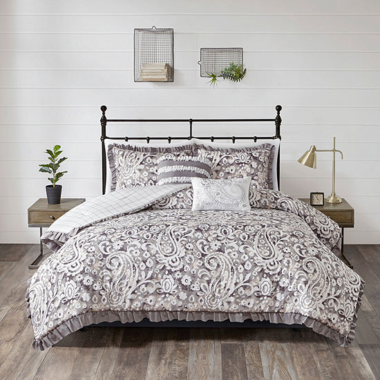 510 Design Bessie 5 Pc Reversible Comforter Set