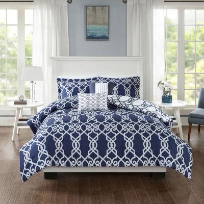 510 Design Neville 5-pc. Reversible Comforter Set