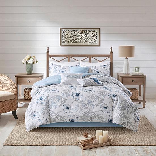 Madison Park Amalia 7-pc. Floral Hypoallergenic Comforter Set