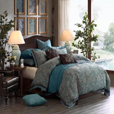 Hampton Hill Lauren Jacquard Comforter Set