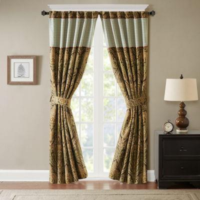 Hampton Hill Canovia Springs Rod-Pocket Curtain Panel