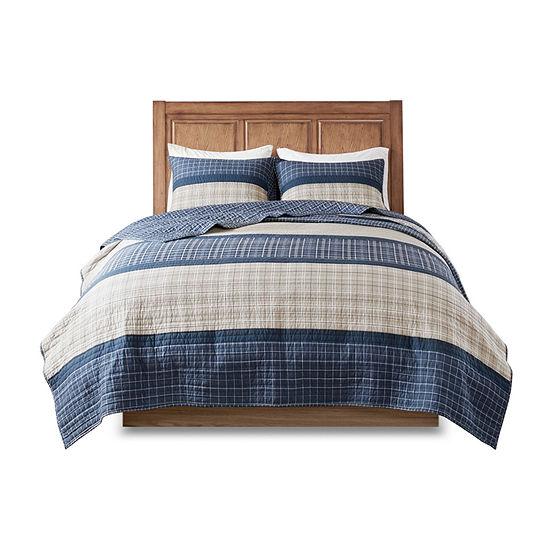 Woolrich Flagship 3-pc. Plaid Reversible Quilt Set