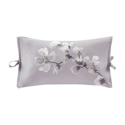 N Natori Sakura Blossom 12X20 Rectangular Throw Pillow