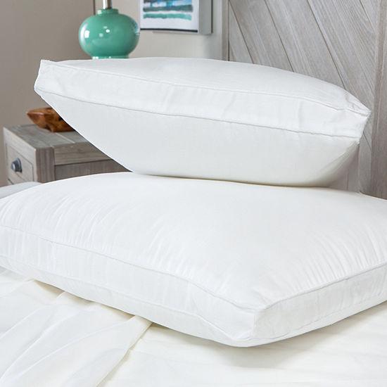 Sensorpedic Low Profile 2-Pack Soft Density Pillow