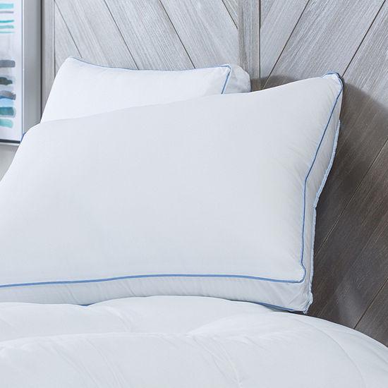 Sensorpedic Memoryloft Deluxe Gusseted 2-Pack Memory Foam Medium Density Pillow