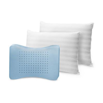 Sensorpedic Memoryloft Classic Cotton Standard Memory Foam Medium Pillow