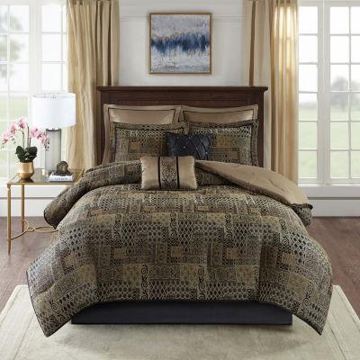 Madison Park Belgian 8-pc. Jacquard Comforter Set
