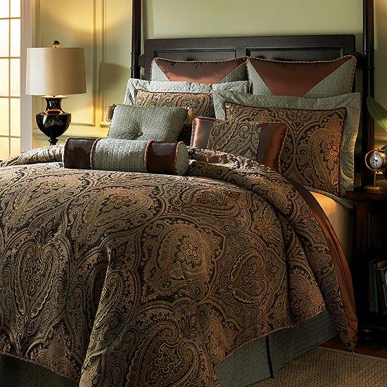 Hampton Hill Canovia Springs Jacquard Comforter Set