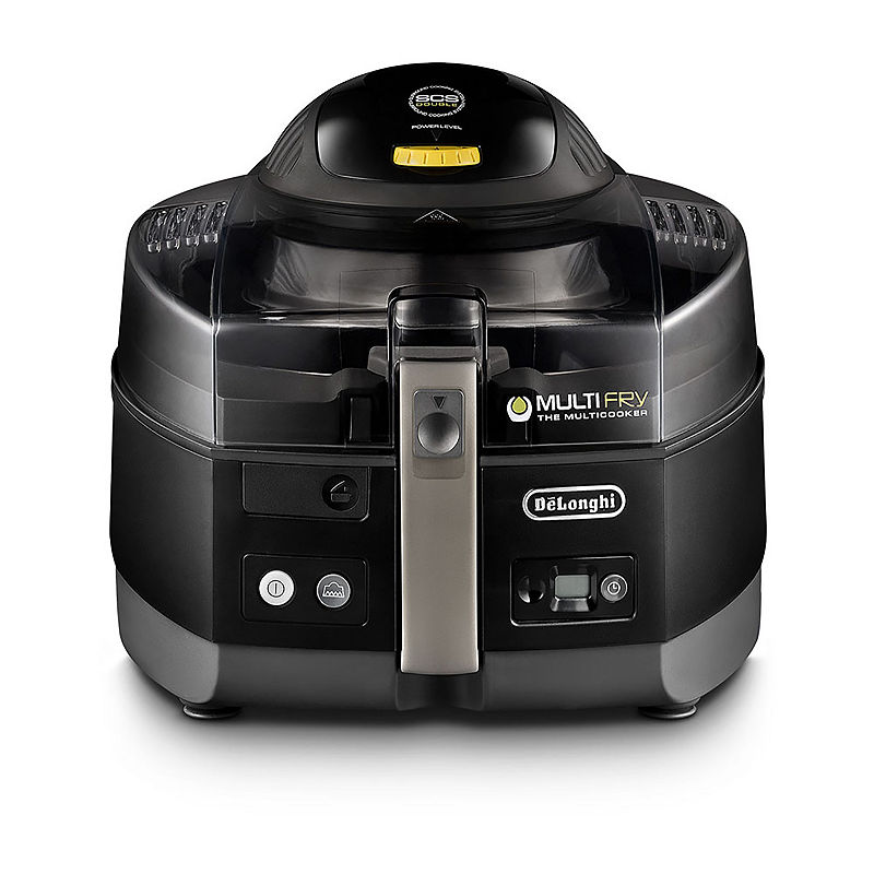 DeLonghi MultiFry air fryer and Multicooker 3.7lb with Surround Cooking System Double