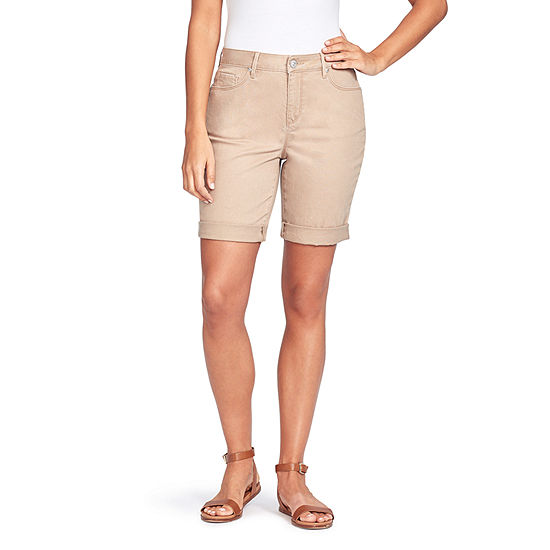 "Gloria Vanderbilt Womens 11"" Bermuda Short"