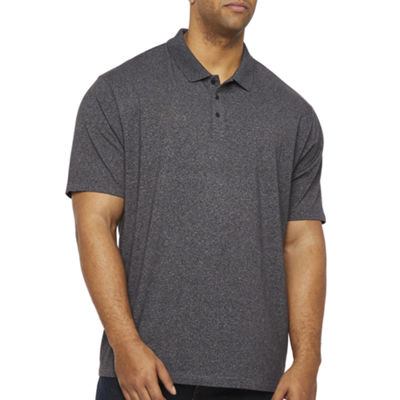 Claiborne Mens Short Sleeve Polo Shirt Big and Tall