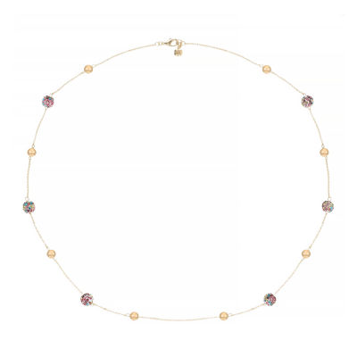 Monet Jewelry 32 Inch Rolo Strand Necklace