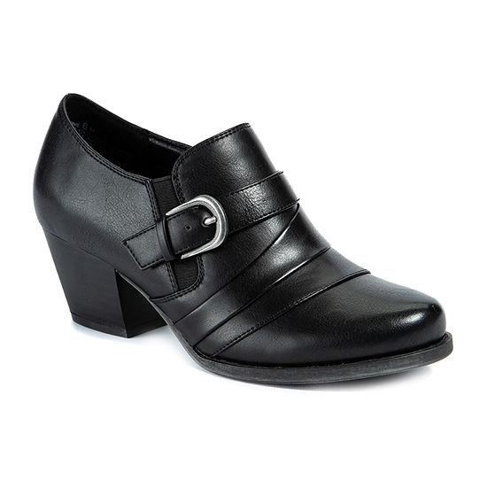Wearever Shoes Womens Stacked Heel Renay Booties