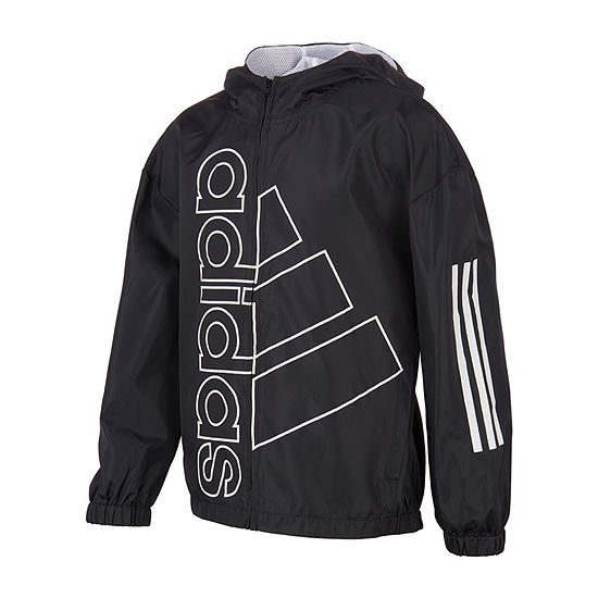 adidas Big Boys Lightweight Windbreaker