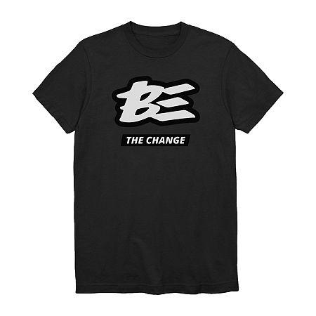 Unisex Adult Crew Neck Short Sleeve Graphic T-Shirt, X-small , Black