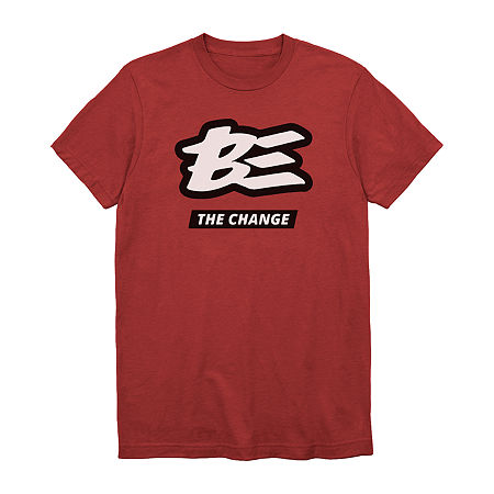 Unisex Adult Crew Neck Short Sleeve Graphic T-Shirt, X-large , Red