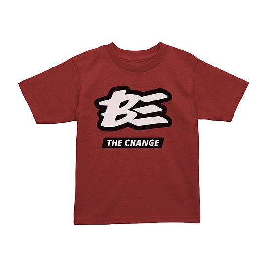 Toddler Unisex Crew Neck Short Sleeve Graphic T-Shirt