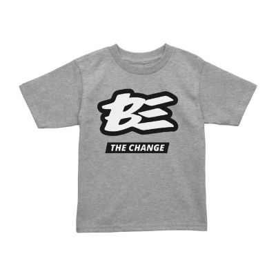 Toddler Unisex Crew Neck Short Sleeve Graphic T-Shirt